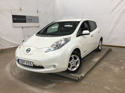 begagnad Nissan Leaf 30 kWh Acenta V-hjul