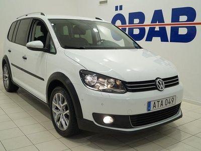 begagnad VW Touran Cross 1.4 TSI 7-sits 140hk S