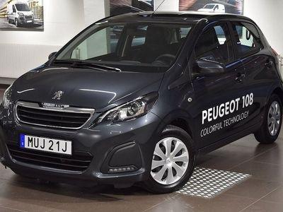 begagnad Peugeot 108 Active PureTech 68hk 5D -D
