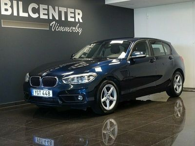 begagnad BMW 120 d 5-door Advantage 190hk Automat