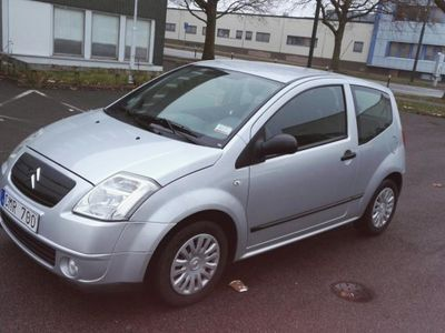 begagnad Citroën C2 j*hfx låga mil -05