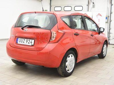 begagnad Nissan Note 1.2 80hk 819MIL / M-VÄRM / MOMSBIL