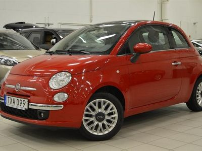 begagnad Fiat 500 LOUNGE 1,2 69HK SoV-Hjul