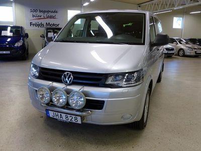 begagnad VW T5 2.0 4MOTION DSGSkåp TwinCabin 180 hk Värmare dragkrok