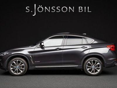 begagnad BMW X6 xDrive 30d Fjärrstyrd värmare 2015, SUV 439 000 kr