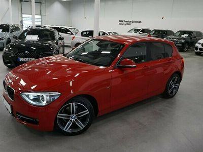 begagnad BMW 118 d 5dr Sport Line HiFi PDC Tonade Rutor 17