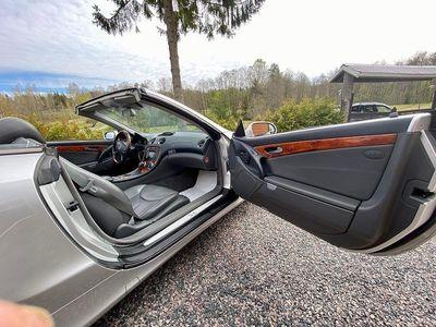 begagnad Mercedes 500 SL Benz5G-Tronic Exclusive Leather 2002, Cab 169 900 kr