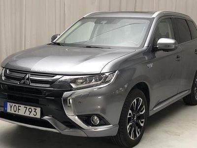 begagnad Mitsubishi Outlander P-HEV 2.0 4WD 2017, SUV 237 000 kr