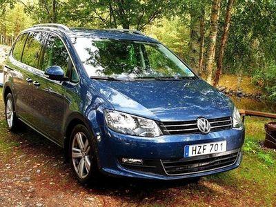 begagnad VW Sharan 2.0 TDI Premium