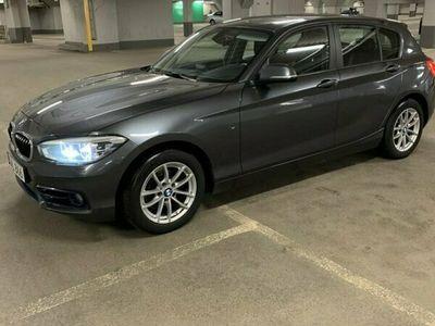 begagnad BMW 118 d 5-dörrars Steptronic Sport line