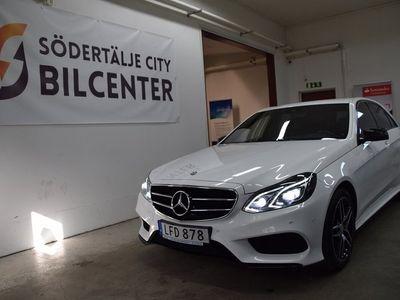 begagnad Mercedes E220 BlueTEC 4M 4MATIC 7G AMG Sport Euro 6 170hk