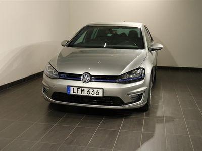 begagnad VW Golf GTE Laddhybrid Navi Backkamera