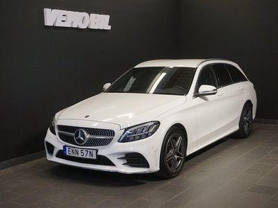 begagnad Mercedes 220 C4-Matic 9G-Tronic AMG Drag Nav Värmare