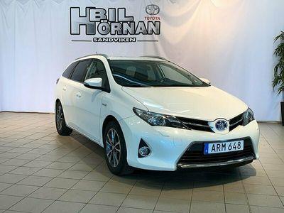 begagnad Toyota Auris Touring Sports Hybrid 1,8 Edition Feel