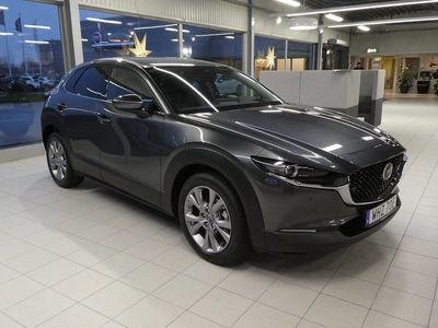 begagnad Mazda CX-30 2.0 Cosmo 122 hk, svart skinnklädsel 122hk