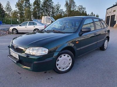 begagnad Mazda 323F 1.5 88hk Nybesiktogad endast 9000