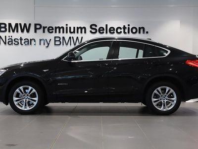 begagnad BMW X4 xDrive20d Sportpaket Automat Krok