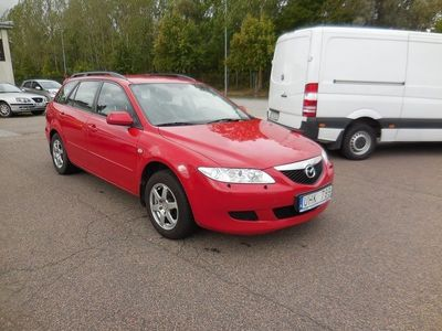 begagnad Mazda 6 Wagon 2.3 Sport 166 HK -04