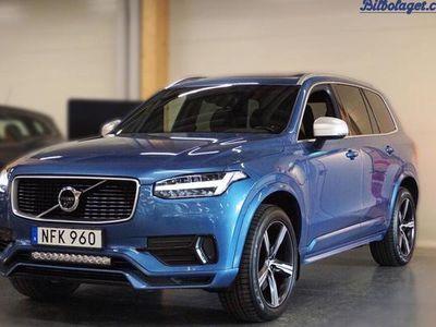 begagnad Volvo XC90 T8 AWD R-Design 7-säten 2017, SUV 547 900 kr