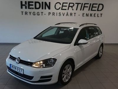 used VW Golf Variant Parkeringsvärmare+fjärr 1.6 TDI BlueMotion DSG 110hk