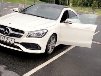 begagnad Mercedes CLA220 (full amg utrustning)
