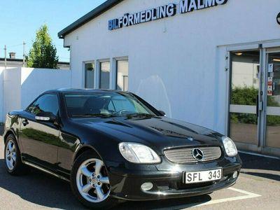 begagnad Mercedes SLK320 Automat 8400Mil Nybesiktad Blanka papper