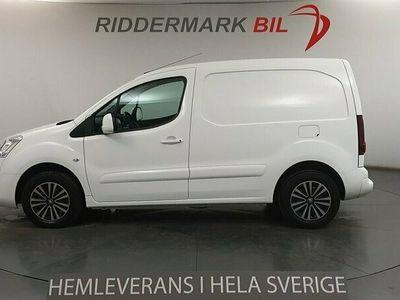 begagnad Peugeot Partner Skåpbil 1.6 BlueHDi Aut Eu6 100hk Pro-Pack Drag Moms