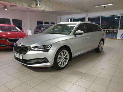 begagnad Skoda Superb Kombi STYLE 2,0 TDI Business Adventure Edition
