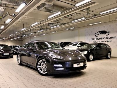 begagnad Porsche Panamera 4 PDK 300HK TAKLUCKA LÅGMIL FULLSERVAD