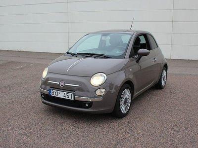 begagnad Fiat 500 1.2 Euro 6 69hk, Nybesiktigad