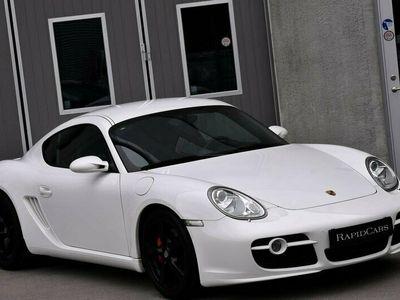 begagnad Porsche Cayman S 295hk Svensksåld | Sport Chrono PASM