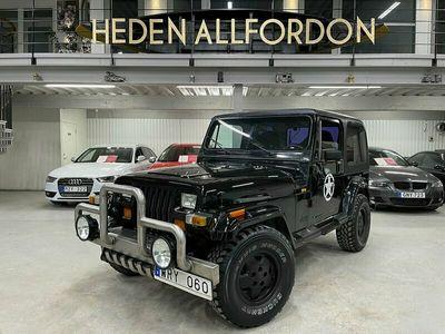 begagnad Jeep Wrangler 2.5 4WD 103hk 13400MIL Skattebefriad Hardtop
