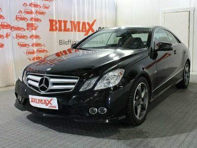 begagnad Mercedes E250 CGI Coupe Automat Bensin