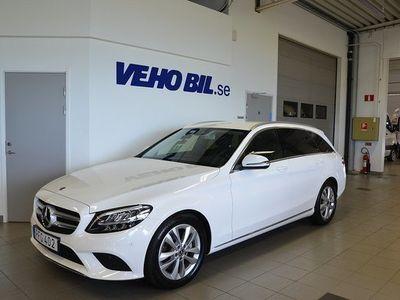 begagnad Mercedes 220 Benz C T d 9G-Tronic Euro 6, Dragkok, Navigation, Backkamera, Avant 2019, Personbil 319 000 kr