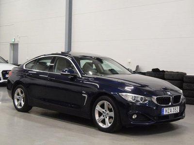 begagnad BMW 420 Gran Coupé d xDrive Taklucka M-Ratt Elstolar