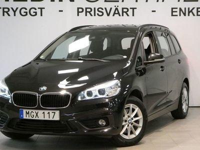 begagnad BMW 218 Gran Tourer 218 I 7-sits Drag B-kamera
