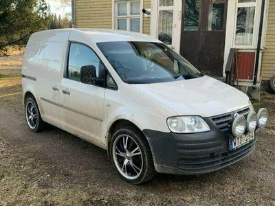 begagnad VW Caddy SKÅP