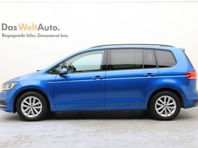 begagnad VW Touran 1,4 TSI 150 / 7-Sits / Dragkrok Kombi
