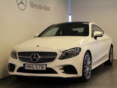 begagnad Mercedes C200 Coupé, AMG Line, Premium