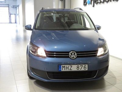 begagnad VW Touran 1,6 TDI DSG Comfort -12