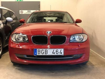 begagnad BMW 118 d 3-door Advantage, Comfort 143hk