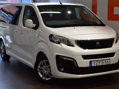 begagnad Peugeot Traveller Business 1.6 BlueHDi 9-Sits - Dragkrok 2018, Transportbil 239 900 kr