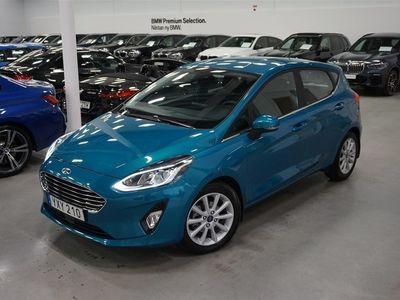 begagnad Ford Fiesta 5d / 1.0 EcoBoost / Powershift / Automat / V-hjul / Navi