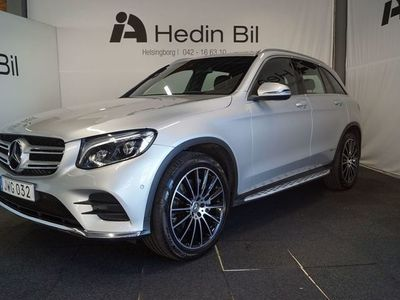 begagnad Mercedes GLC250 4MATIC 9G-Tronic AMG Sport Euro 6 211hk