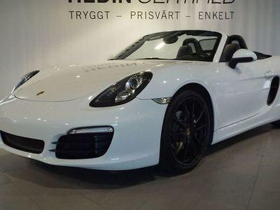 """begagnad Porsche Boxster PDK 265hk Nyservad, 20"""" fälgar"""