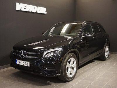 begagnad Mercedes GLC220 d 4M 220d 4-Matic 9G-Tronic Värmare Drag Nav Style edition