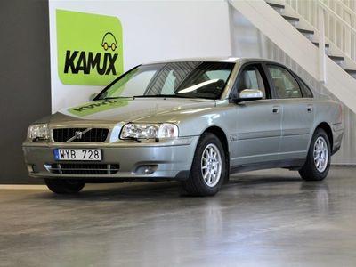 begagnad Volvo S80 2.4 Manuell, 140hk, 2006, Drag, Motorvärmare