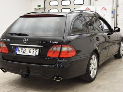 begagnad Mercedes E320 CDI 4Matic 224hk AUT / DRAG / SKINN