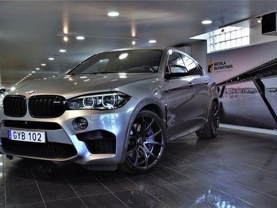 begagnad BMW X6 M 575HK / 22'' / Sv-Såld / SoV / SE SPEC