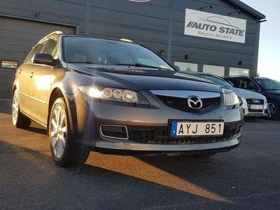 begagnad Mazda 6 Wagon 2.3 MZR Sport 166 HK Nybes.